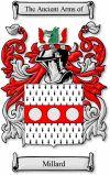 Millard Coat of Arms / Millard Family Crestwww.4crests.com #coatofarms #familycrest #familycrests #coatsofarms #heraldry #family #genealogy #familyreunion #names #history #medieval #codeofarms #familyshield #shield #crest #clan #badge #geneology #tattoo