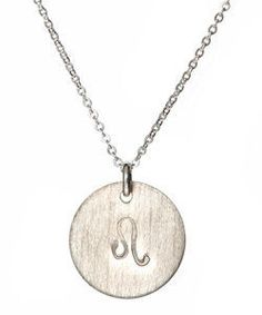 Nashelle Leo Charm Necklace