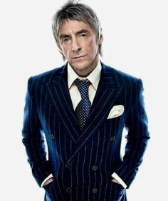 Paul Weller - The Modfather Smart Dressed Man, The Style Council, Paul Weller, Suit Shoes, Teddy Boys, Skinhead, I Icon, Gentleman Style, Perfect Man