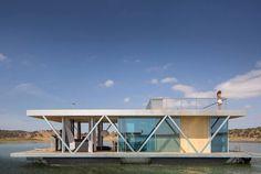 Floatwing: una casa galleggiante modulare
