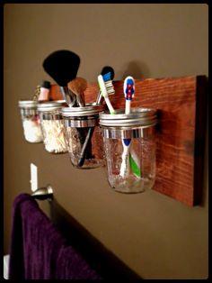 Mason Jar Caddy by MasonBuilders on Etsy, $50.00