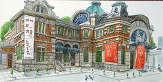 lovesera ศิลปะของคุณธรรม :: [สีน้ำ] วัฒนธรรมสถานีรถไฟโซล 284 (เดิมชื่อสถานีรถไฟโซล) ถอนเงิน