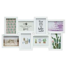 Display all your cherished memories of special occasions with the Frame Depot 8 Open Gallery Collage Frame. Night Gallery, Open Gallery, Gallery Wall, Old Picture Frames, Picture Wall, Photo Wall Hanging, Collage Frames, Frames For Sale, Cherished Memories