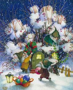 Olga Lonaytis | ILLUSTRATION | Winter Tales | Christmas