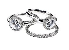 From the Gilmore Collection. Each style can be easily customized and is available in platinum, white, yellow & rose gold.