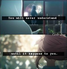 A silent voice Sad Anime Quotes, Sad Quotes, A Silence Voice, A Silent Voice Anime, Voice Quotes, Japanese Show, Meant To Be Quotes, Good Sentences, Life Words