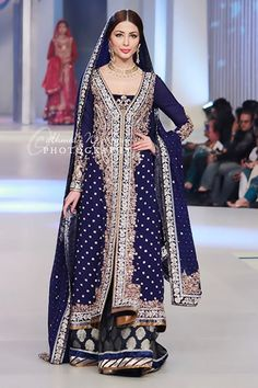 For F at the mehndi, swap out lengha for churidaar, and brighter blue