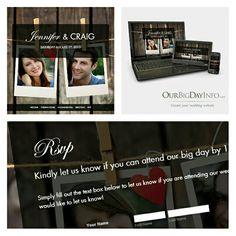 Our beautiful 'Rustic' theme! Rustic Theme, Wedding Website, Elegant Wedding, Big Day, Create Yourself, Texts, Weddings, Creative, Beautiful