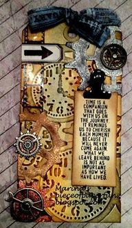 Tim Holtz tags -