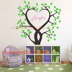 Large Family Tree Wall Decal | ... Trees wall decal vinyl home Art Decals Wall Sticker stickers living