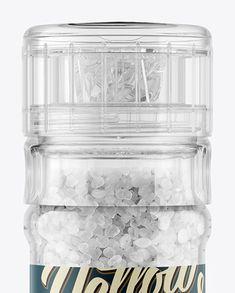Sea Salt Grinder Mockup Close-Up