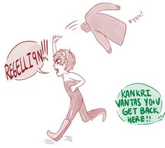 Gentle reminder that Kankri canonically hates his sweater and is a brat.