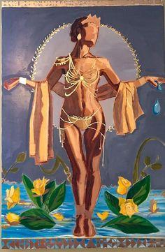 Oshun African Goddess of Fertility gift for her! African Mythology, African Goddess, Oshun Goddess, Goddess Art, Black Love Art, Black Girl Art, Black Goddess, Goddess Of Love, Orisha