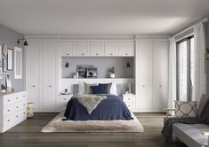 Fitted Bedrooms Furniture Fitted Bedroom Furniture with bed rooms decoration with home bedroom image with bedroom photos decorating ideas Bedroom Built In Wardrobe, Fitted Bedroom Furniture, Fitted Bedrooms, Bar Furniture, Cheap Furniture, Bed With Wardrobe, Furniture Removal, Furniture Layout, Furniture Stores