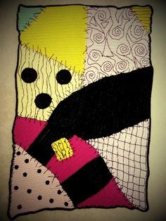 Nightmare Before Christmas Graph Crochet Blanket | Custom blankets