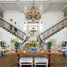 Kappa Kappa Gamma University of Arkansas Sorority House: Foyer