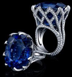 Robert Procop Exceptional Jewels... 63Ct Sapphire