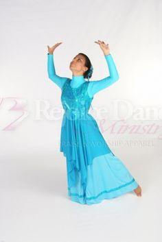 Living Waters Sleeveless Tunic w/Skirt