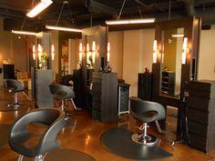 Salon Interior- Have a seat we will take care of the rest! At Mirror Mirror Salon & Spa - Kelowna, BC