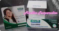 Zahnpasta Original White von GUM für weißere Zähne.