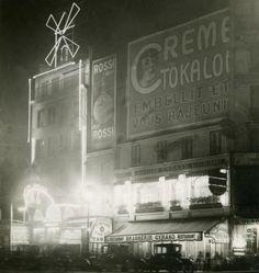 Moulin Rouge, 1923  by Henri Manuel