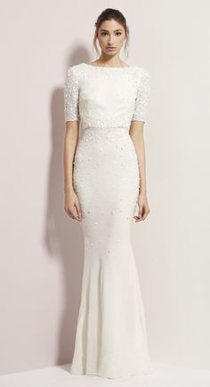 Rachel Gilbert Blush Rachel Gilbert Georgina Gown Wedding Dress on Sale 55% Off
