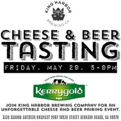 5/29/15  Cheese & Beer Tasting Event Flyer