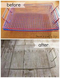 Lauras Crafty Life: {Faux} Wire Basket