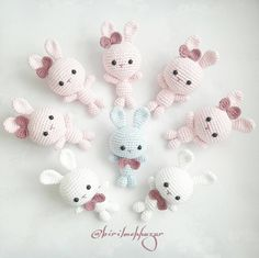 Amitoys made to play handmade игрушки – artofit Easter Bunny Crochet Pattern, Crochet Rabbit, Crochet Doll Pattern, Crochet Dolls, Crochet Patterns, Kawaii Crochet, Cute Crochet, Crochet Bouquet, Crochet Baby Clothes