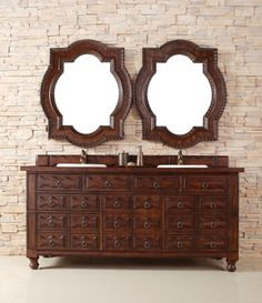 72 Inch Double Sink Bathroom Vanity with Plenty of Storage UVJMF160V72ACG72 $1,895  Upstairs Bathroom#2