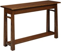 OFF Amish Furniture - Hand Crafted Shaker and Mission Furniture Online Outlet Store: 6900 Madison Sofa Table: Q. Craftsman Furniture, Hardwood Furniture, Amish Furniture, Furniture Plans, Online Furniture, Living Room Furniture, Furniture Styles, Furniture Design, Online Outlet