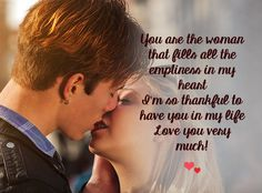 Sweet Love You Messages For Her – Love Quotes And Love Messages For Her Romantic Good Morning Quotes, Good Night Love Quotes, Always Love You Quotes, Sweet Romantic Quotes, Romantic Love Messages, Good Morning My Love, Love Husband Quotes, Love Quotes With Images, True Love Quotes