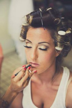 #Bridal #AirbrushMakeup our Bride Taryn choose to wear gold, champagne and brown #Shadow tones for her #Makeup  @VoEvolution #PuertoMorelos