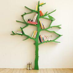 Ispirata all'amore per la natura, la #libreria #Tree by #Nursery #Works è uno scaffale unico