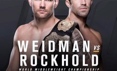 Weidman-Rockhold Might Just Steal The Show at UFC 194