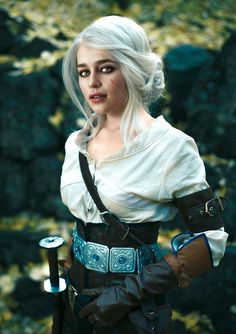 Emilia Clarke as Ciri from The Witcher 3