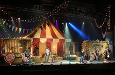 "Stage design for ""The Family Circus"" series, USA"