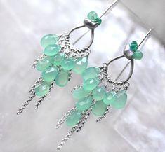 The Ramatuelle earrings ~ by Modeste Parisienne, via Flickr