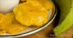 This healthy Fried Tostones dish is great to enjoy as a tasty appetizer with friends!