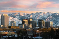 Salt Lake City, Utah.  I drove through here on the way to Cali once & have always wanted to go back!