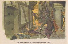 Le massacre de la Saint-Barthélémy (1572)