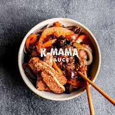 K-Mama Sauce is a rich and spicy Korean hot sauce that adds deep and complex flavor to a variety of dishes. Pulled Pork, Hot Sauce, Spicy, Tasty, Dishes, Healthy, Ethnic Recipes, Food, Shredded Pork