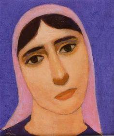 Nuri İyem Turkish People, Painting People, Painting Art, Illustrations And Posters, Face Art, Mona Lisa, Pastel, Portrait, Artist