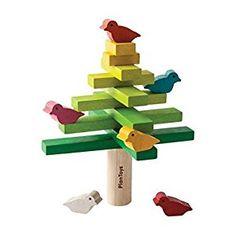 Amazon.com: Plan Toys Balancing Tree Game: Toys & Games