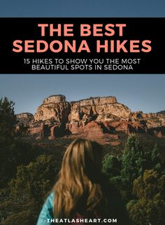 The best Sedona hikes! From leisurely walks through vortexes to steep inclines and heart-thumping views of the famous red rocks. Arizona Travel, Sedona Arizona, Arizona Trip, Arizona Usa, Canada Travel, Travel Usa, Travel Around The World, Around The Worlds, Sedona Hikes