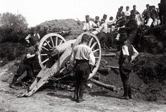 French artillery WW1