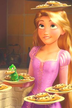 Rapunzel. This one looks like me! Considering that I just made three dozen cookies today!