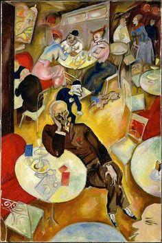 George Grosz -  Café, 1915.