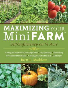 A holistic approach to small-area farming that can enable a gardener to produce 85 percent of an average family's food on just a quarter acre. In Maximizing Your Mini Farm, author and mini-farming guru Brett L. Markham breaks down the tips, tricks and planning advice that can make your small-area farm profitable and help you grow more food on less land.