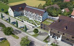 STOMEO Architektur Visualisierung - Zürich Mansions, House Styles, Home Decor, Birds Eye View, Architecture Visualization, Human Settlement, Real Estates, Floor Layout, Decoration Home